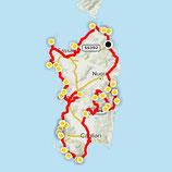 "Sardinien - GPX Route - ""Explore Sardegna"""