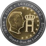 Luxemburg 2004 - Monogramm Großherzog Henri