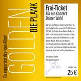 1 DIE PLANK Frei-Ticket