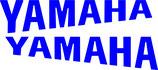 2 lettrages Yamaha profilé pour phase 1