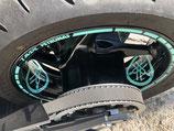 Diapasons Yamaha des roues