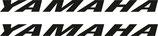 2 lettrages Yamaha plein pour phase 1