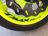 "Lettrage ""Tmax Racing"" roues"