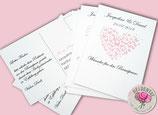 Postkarten für Glückwünsche, Musikwünsche und mehr