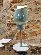 "Lampe ""Crocus bleu"""