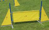 Callieway Textilbarriere für Agility Hürde (Traingsutensil NEU) 110x50cm