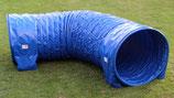 """Callieway® Dog Agility Tunnel """"Profi80"""", 3m lang / 80cmØ, Agilitytunnel (FCI konform) (blau)"""