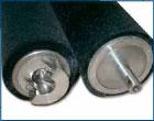 Brush Roller, new. Bürstenwalze Komplettanfertigung 55x30x1024