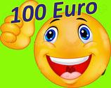 Je fais un Don de 100€ (34€ après réduction d'impôt,  à hauteur de 20% du revenu imposable) ²