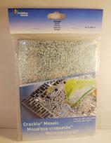 Crackle Mosaic / gecrackeltes verspiegeltes Glas  / NICHT durchscheinend