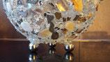 3 große Perlen 20 mm als Kugelständer -Perlmuttfarben-