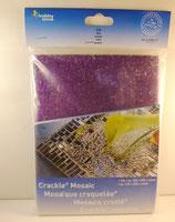 Crackle Mosaic / gecrackeltes verspiegeltes Glas Durchscheinend