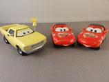 Disney Pixar CARS - Mia, Tia en Jay W.