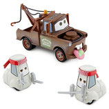 Disney Store CARS 2 - Wasabi Mater en sushi chefs