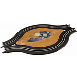 61648 Carrera-Enkel baans rotonde met decoratie