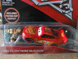 Lightning McQueen Cars 3 w/ Piston Cup