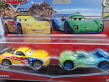 Disney CARS 2 - JEFF CORVETTE & CARLA VELOSO