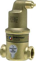 """Mikroluftblasenabscheider Spirovent Solar, horizontal DN25 (1"""") IG"""