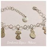 Silver charms - Bracciale con charms a tema