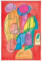 Weihnachtskarte 486 (Hildegard Köppel)