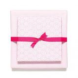 Geschenkpapier Bogen Circles & Net Pink