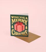 Merry Christmas - grün -