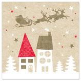 Merry Christmas Häuser