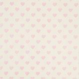 Geschenkpapier Herz Rosa (Rolle)