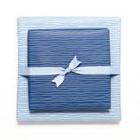 Geschenkpapier Bogen Wasser - Blau