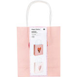 Geschenktüten Herzen rosa (2er-Set)