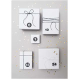 Geschenkschachteln (24 Stück) weiß