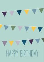 Happy Birthday Wimpel