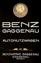 Benz Gaggenau Nutzwagen