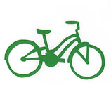 green cruiser bike