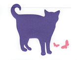 cat - patience purple