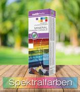 Mineral-Chakrakerzen 7er Packung, in den Regenbogenfarben