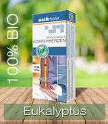 Bio-Körperkerzen 10er Packung, Eukalyptus