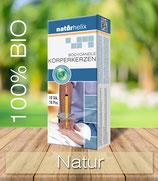 Bio-Körperkerzen 10er Packung, Natur