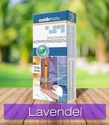 Körperkerzen 10er packung, Lavendel