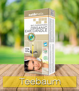 Bio-Ohrkerzen 10er Packung, Teebaum