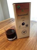 Bio Aronia-Saft naturrein im 3l Bag in Box