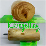 """Magnethalter """"Kringelling"""", L ca. 75mm, D ca. 30mm, mit Schraubenset"""