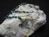 """""""DragonFly"""" - Glasperlenanhänger, ca. 13,5 cm Länge"""