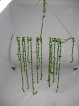 """Sonnenfänger """"Hang Loose"""", 30*20 cm, Glasstab und 9 lose Glasperlenstränge zum Selbstgestalten"""