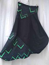 Jupe longue noire motif Calvin Klein