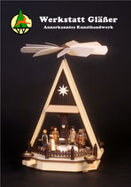 Hauspyramide Christi Geburt Natur