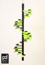 "Lichtspirale Helix ""Color"" grün"