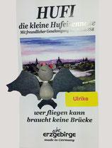 Hufi - Ulrike fliegend