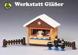 Weihnachtsmarktstand Metzgerbude   65/35