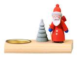 Kerzenhalter Teelicht Weihnachtsmann